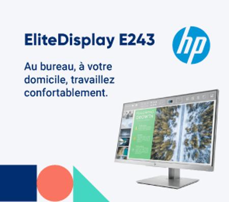 Bannière EliteDisplay E243