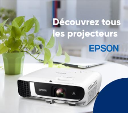 Bannière Projecteurs Epson
