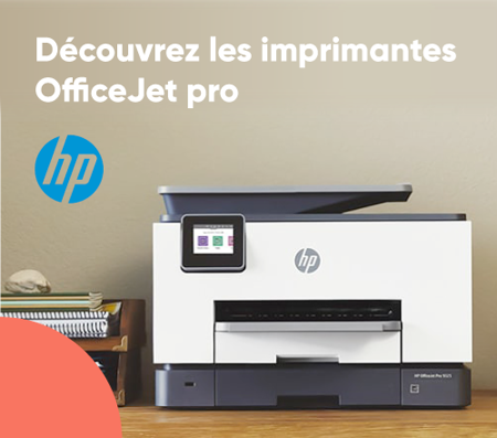 Bannière HP OfficeJet Pro