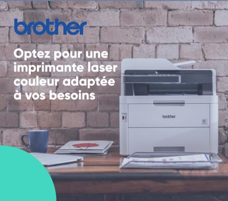 Bannière laser couleur Brother